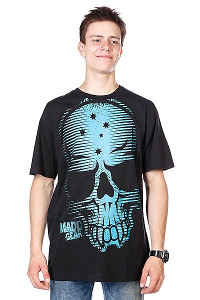 Футболка MGP T-shirt Tremors Blue/Black