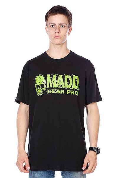 Футболка MGP T-shirt Corpo Black/Green