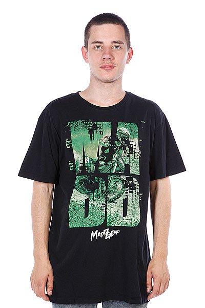 Футболка MGP T-shirt Keyhole Mx Black<br><br>Цвет: черный<br>Тип: Футболка<br>Возраст: Взрослый<br>Пол: Мужской