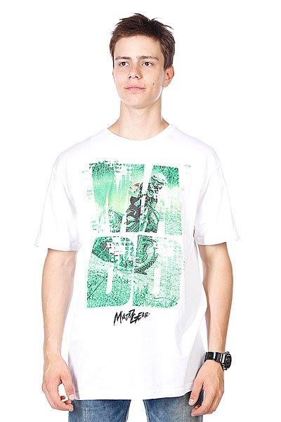 Футболка MGP T-shirt Keyhole Mx White  футболка mgp t shirt corpo skull black white