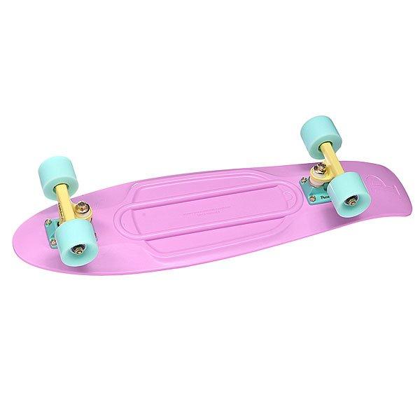 Скейт мини круизер Penny Nickel Pastels Lilacs 27 (68.6 см) скейт мини круизер penny original 22 ltd shadow jungle 6 x 22 55 9 см