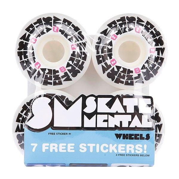 Колеса для скейтборда для скейтборда Skate Mental Staked Logo Blue 52 Mm 99AДиаметр: 52 mm    Жесткость: 99A    Цена указана за комплект из 4-х колес<br><br>Цвет: белый,синий,черный<br>Тип: Колеса для скейтборда