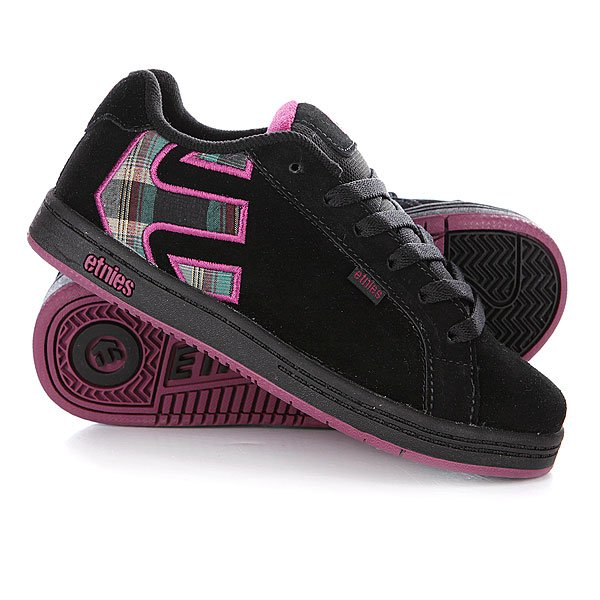 Кеды кроссовки детские Etnies Sample Fader Blackberry Proskater.ru 999.000
