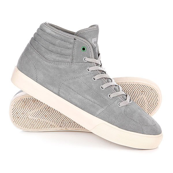 Кеды кроссовки высокие Etnies Sample Senix Mid Plus Grey Proskater.ru 2669.000