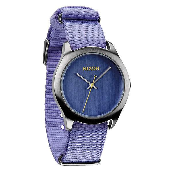 Часы женские Nixon Mod Pastel PurpleБольшая вещь в маленьком стильном корпусе. Не позволяйте этим часам ввести Вас в заблуждение. Несмотря на кажущуюся хрупкость, они изготовлены из высококачественных материалов и будут служить Вам долго и точно.Японский кварцевый механизм Miyota 3 с тремя стрелкамиВодоупорный до 100м корпус из нержавеющей стали&amp;nbsp;толщиной 38ммДвойное закаленное минеральное стеклоПрочный нейлоновый ремешок с пряжкой из нержавеющей стали<br><br>Цвет: фиолетовый<br>Тип: Кварцевые часы<br>Возраст: Взрослый<br>Пол: Женский