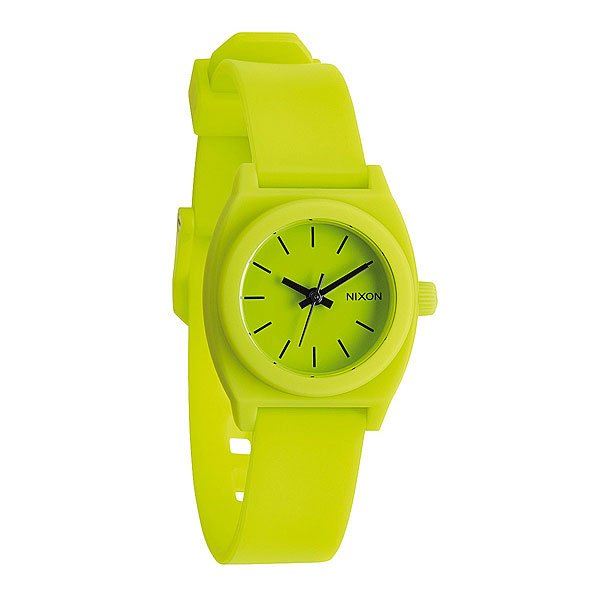 Часы женские Nixon Small Time Teller P Lime