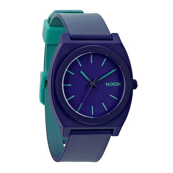 Часы Nixon Time Teller P Teal/Purple Fade