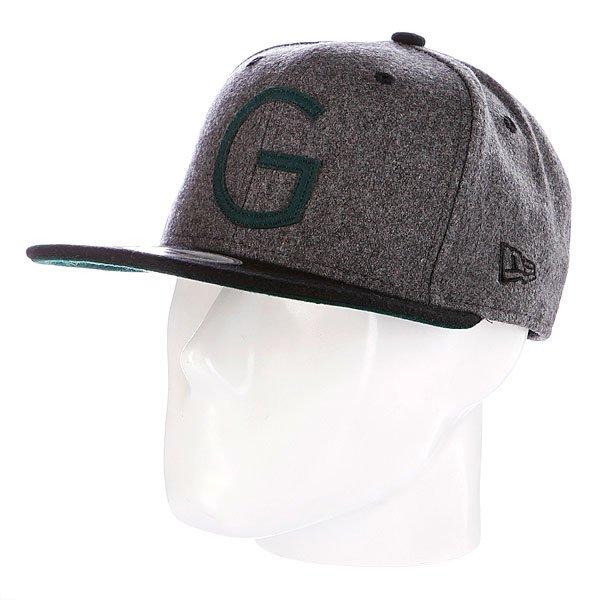 Бейсболка Globe Hunstmen New Era Cap Grey Marle<br><br>Цвет: черный<br>Тип: Бейсболка классическая<br>Возраст: Взрослый