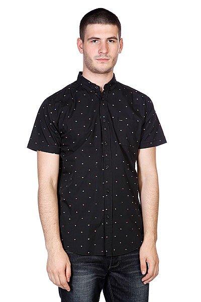 Рубашка Globe Signal Shirt Black<br><br>Цвет: черный<br>Тип: Рубашка<br>Возраст: Взрослый<br>Пол: Мужской