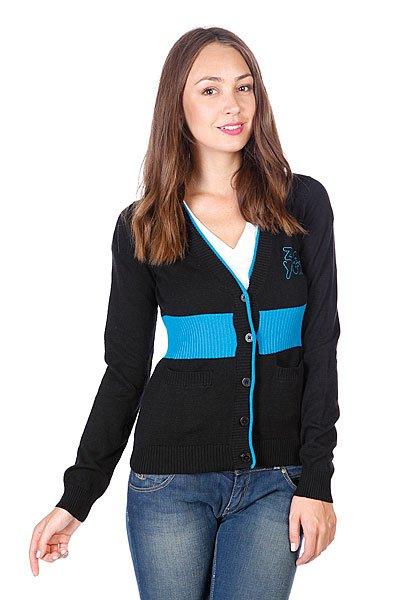 Кардиган женский Zoo York Arrow Sweater Black<br><br>Цвет: черный<br>Тип: Кардиган<br>Возраст: Взрослый<br>Пол: Женский