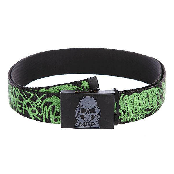Ремень MGP Madd Web Belt Black/Green Proskater.ru 1130.000