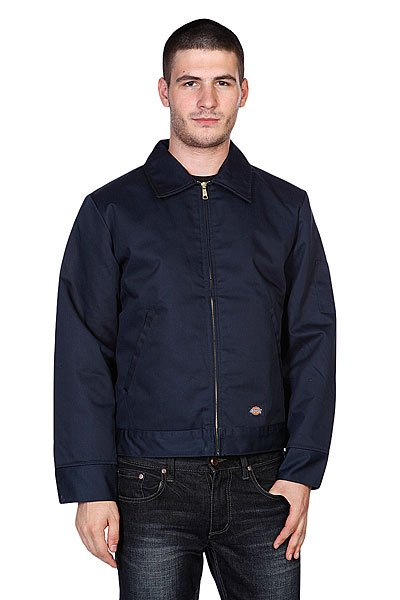 Куртка Dickies Lined Eisenhower Jacket Dark Navy ветровка dickies softshell jacket navy