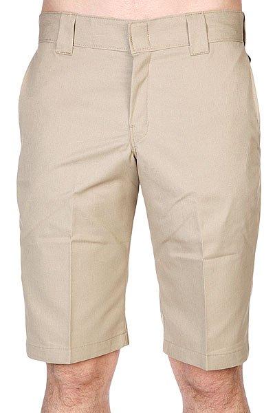 Шорты Dickies 13 Slim Fit Work Short Short SandДанная модель не имеет внутренней подкладки в виде сеточки<br><br>Цвет: бежевый<br>Тип: Шорты<br>Возраст: Взрослый<br>Пол: Мужской