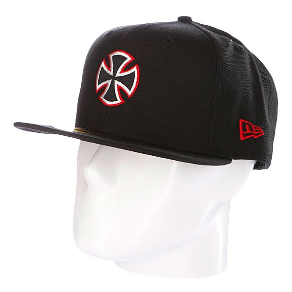 Купить Бейсболки   Бейсболка New Era Independent Unit NewEra Fitted Black