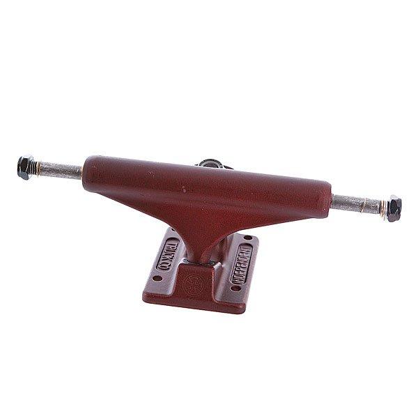 Подвеска для скейтборда 1шт. Independent St 11 Ano Series Oxblood Red 129 Standard 7.6 (19.3 см)Цена указана за одну подвеску. Минимальный заказ 2 шт.Ширина подвески : 7.6 (19.3 см)Высота подвески: 55 мм<br><br>Тип: Подвеска для скейтборда