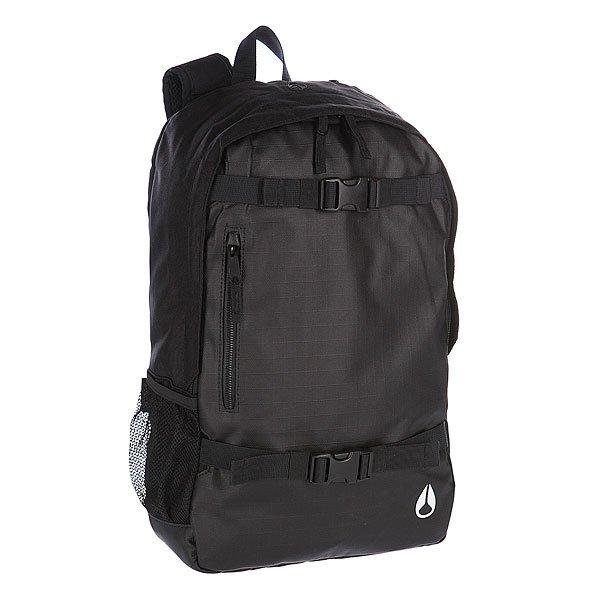 Рюкзак спортивный Nixon Smith Skatepack Ii Black рюкзак муской nixon smith backpack se 21l khaki heather o s