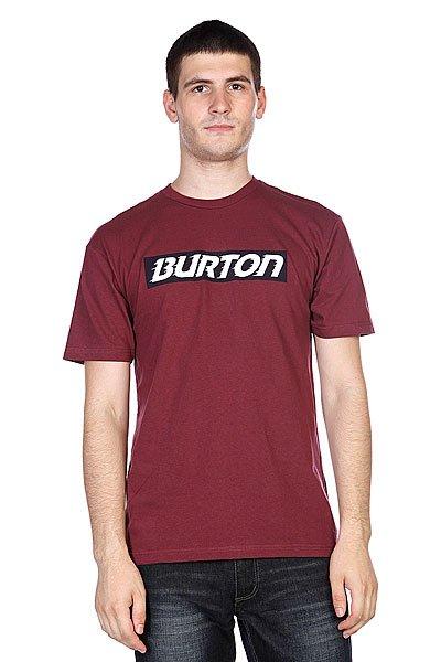 Футболка Burton Slow Motion Ss Sangria<br><br>Цвет: бордовый<br>Тип: Футболка<br>Возраст: Взрослый<br>Пол: Мужской