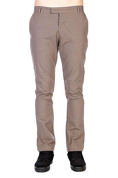 Штаны прямые Volcom Daper Stone Suit Pant Houndstooth