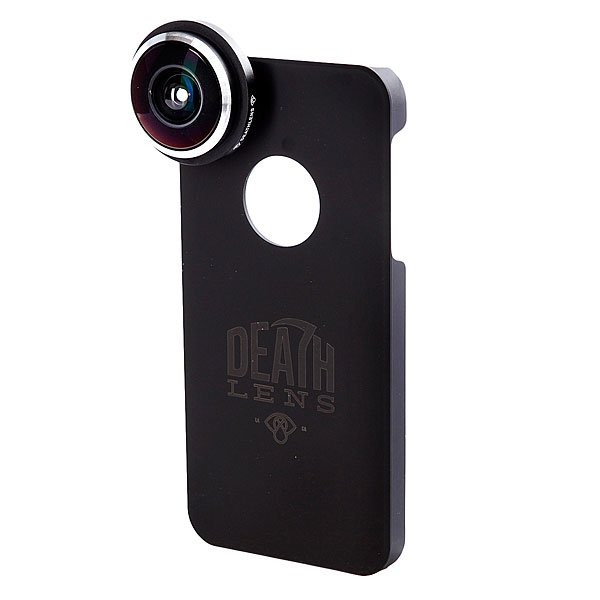 Чехол для Iphone Death Lens Fisheye Lens Red Box 5/5s чехол для iphone death lens fisheye lens dk blue box 4 4s