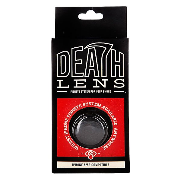 Чехол для Iphone Death Lens Fisheye Lens Red Box 5/5s