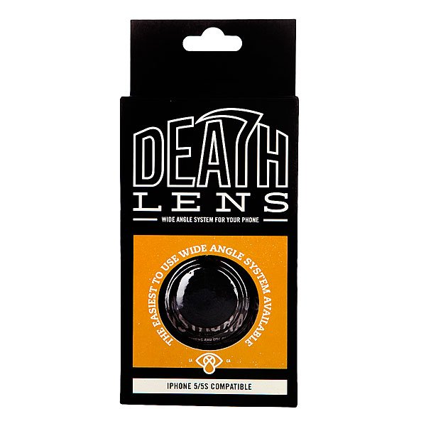 Чехол для Iphone Death Lens Wide Angle Lens Orange Box 5/5s