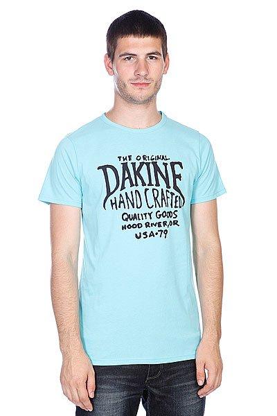 Футболка Dakine Hand Crafted Aqua<br><br>Цвет: голубой<br>Тип: Футболка<br>Возраст: Взрослый<br>Пол: Мужской
