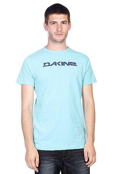 Футболка Dakine Stencil Rail Aqua<br><br>Цвет: голубой<br>Тип: Футболка<br>Возраст: Взрослый<br>Пол: Мужской