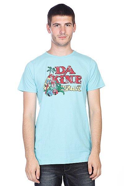 Футболка Dakine Maui Aqua<br><br>Цвет: голубой<br>Тип: Футболка<br>Возраст: Взрослый<br>Пол: Мужской