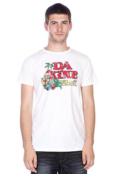 Футболка Dakine Maui White<br><br>Цвет: белый<br>Тип: Футболка<br>Возраст: Взрослый<br>Пол: Мужской
