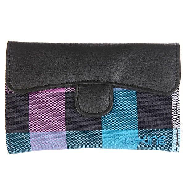 Кошелек женский Dakine Lexi Vista<br><br>Цвет: черный,голубой,розовый<br>Тип: Кошелек<br>Возраст: Взрослый<br>Пол: Женский