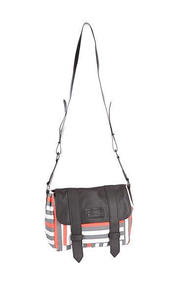 Сумка женская Dakine Casey 5l MatchstickТехнические характеристики:  Верх из хлопка.  Внутренняя подкладка из текстиля. Застежка – молния + защитная накладная панель на ремешках.  Потайной карман на молнии.  Длинная тонкая ручка для ношения сумки через плечо.  Форм-фактор – плечевая сумка (shoulder bag).<br><br>Цвет: белый,серый<br>Тип: Сумка<br>Возраст: Взрослый<br>Пол: Женский