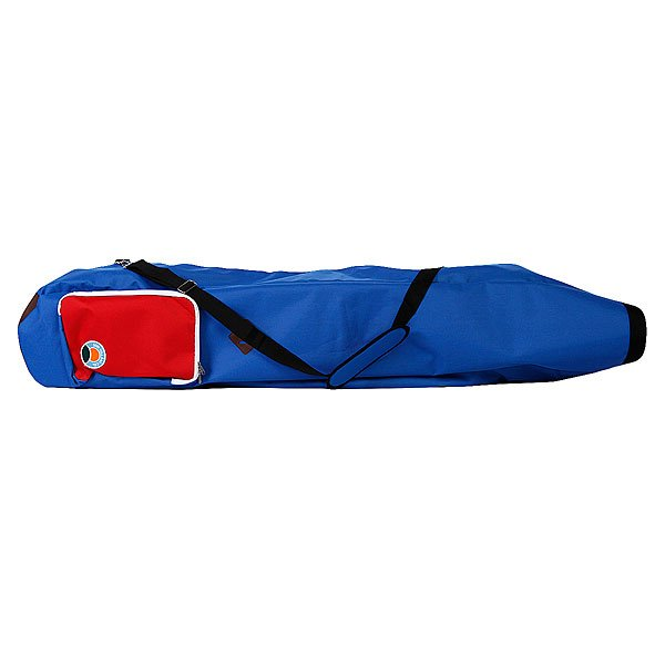 Чехол для лонгборда Skate Bag Sun Hill Blue/Red