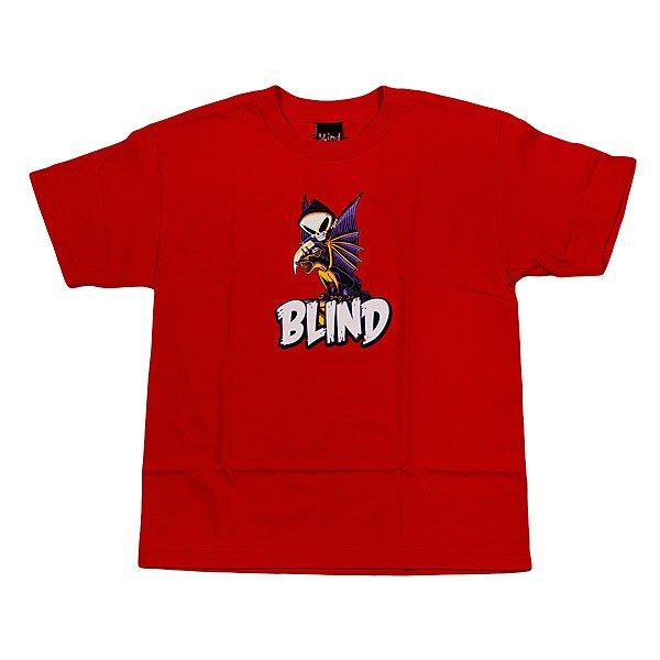 Футболка детская Blind Dragon Red<br><br>Цвет: красный<br>Тип: Футболка<br>Возраст: Детский