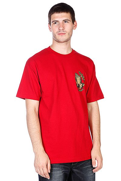 Футболка Santa Cruz Jessee Guadalupe Cardinal Red<br><br>Цвет: красный<br>Тип: Футболка<br>Возраст: Взрослый<br>Пол: Мужской