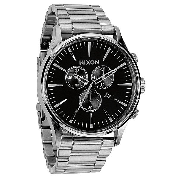 Часы Nixon Sentry Chrono Black кварцевые часы nixon sentry chrono black rose gold