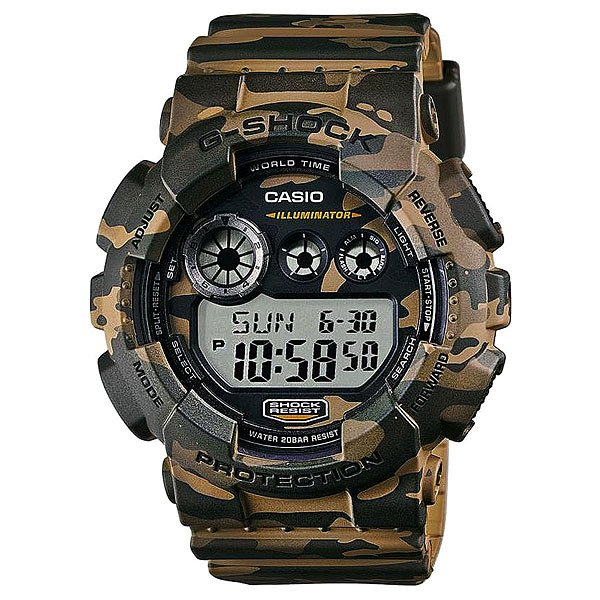 Часы Casio G-shock Gd-120Cm-5E casio gd x6900tc 5e