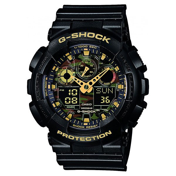 Часы Casio G-shock Ga-100Cf-1A9 часы casio ga 100cf 1a