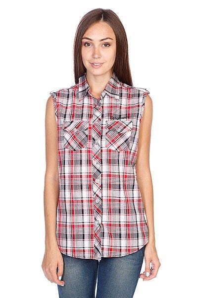 Рубашка в клетку женская Hydroponic Wangaratta Red Check Proskater.ru 2680.000