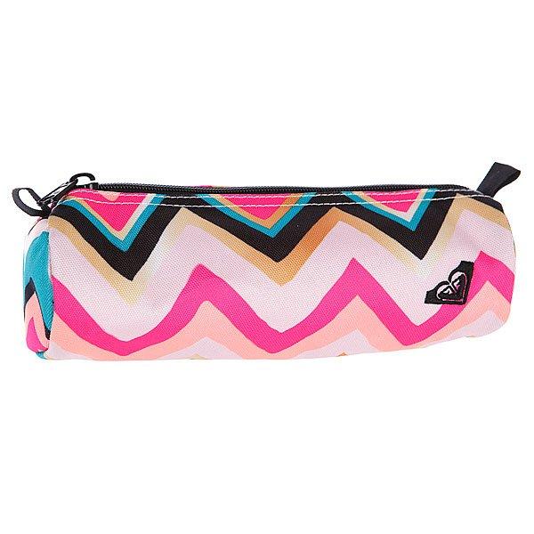 Пенал женский Roxy Off The Wall Tropical Pink - ПодарокВместительный пенал поможет сохранить все ваши принадлежности в полном порядке.Характеристики:Верх из полиэстера. Основное отделение на молнии.<br><br>Цвет: голубой,розовый<br>Тип: Пенал<br>Возраст: Взрослый<br>Пол: Женский