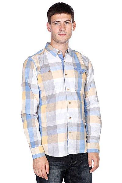 Рубашка в клетку Picture Organic Po Duck<br><br>Цвет: голубой,белый<br>Тип: Рубашка в клетку<br>Возраст: Взрослый<br>Пол: Мужской