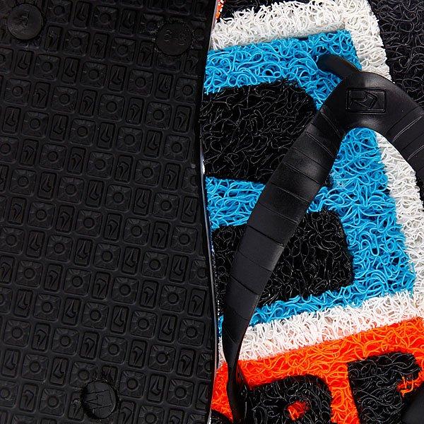 Шлепанцы Globe Merkin Stamp Black/Hawa/Coral