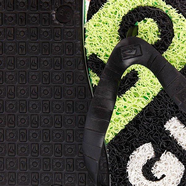 Шлепанцы Globe Merkin Typo Black/White/Lime