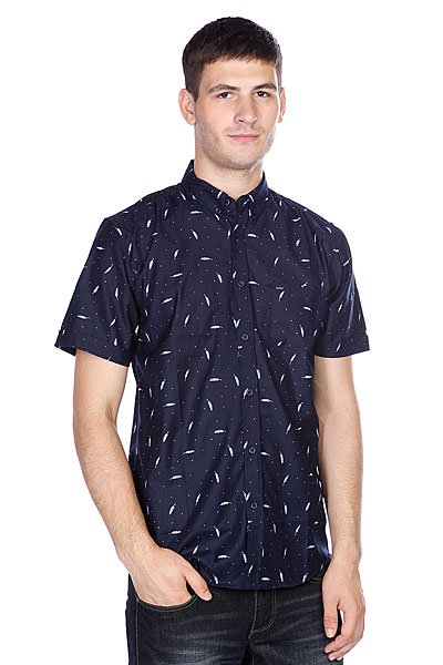 Рубашка Globe Fern Shirt Navy
