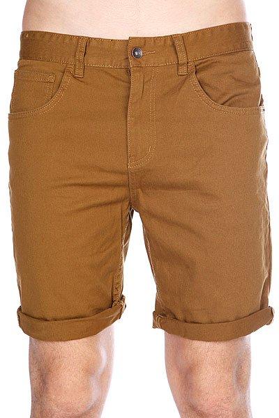 Шорты Globe Goodstock Denim Walkshort Camel<br><br>Цвет: коричневый<br>Тип: Шорты<br>Возраст: Взрослый<br>Пол: Мужской