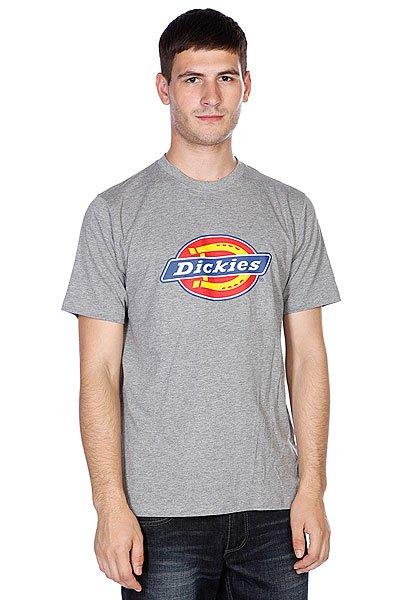 Футболка Dickies Horseshoe Tee Grey Melange<br><br>Цвет: серый<br>Тип: Футболка<br>Возраст: Взрослый<br>Пол: Мужской