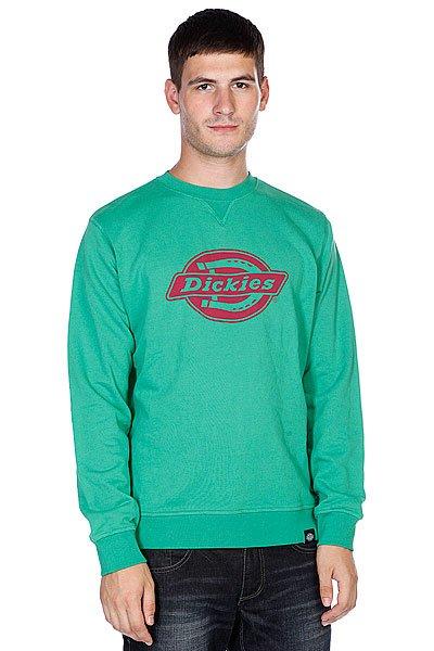 Толстовка Dickies Chicago Emerald Green<br><br>Цвет: зеленый<br>Тип: Толстовка классическая<br>Возраст: Взрослый<br>Пол: Мужской
