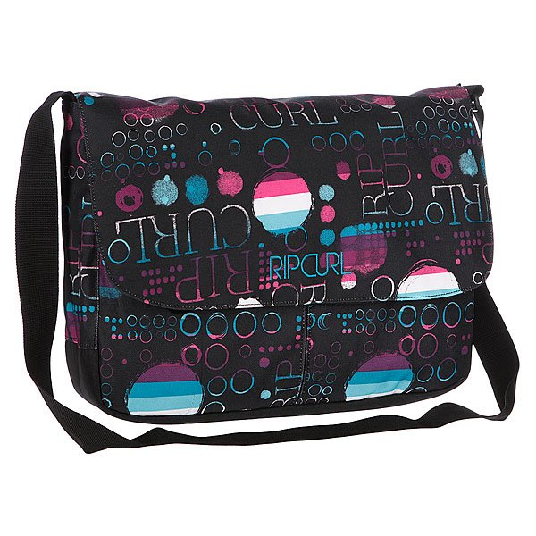 Сумка женская Rip Curl Dots Computer Bag Solid Black