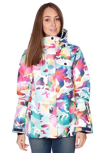 Куртка утепленная женский Roxy Jetty Jk Bright White Proskater.ru 9290.000