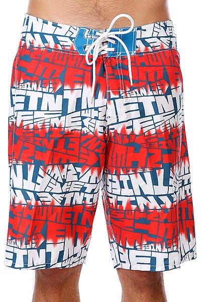 Шорты пляжные Etnies Looser Boardie White шорты женские oakley flip top boardie pool blue