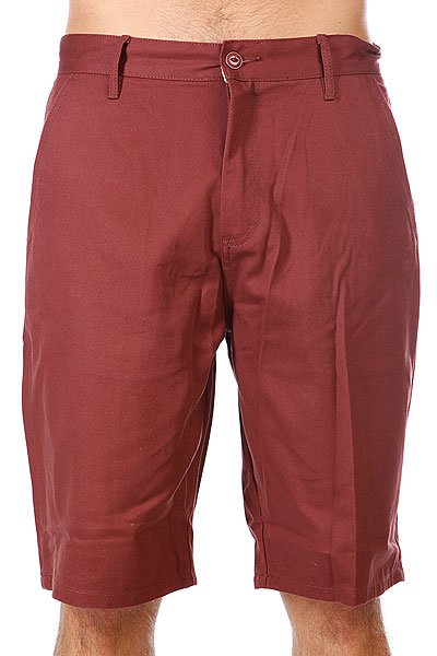 Шорты Etnies Classic Chino Short Maroon<br><br>Цвет: бордовый<br>Тип: Шорты<br>Возраст: Взрослый<br>Пол: Мужской